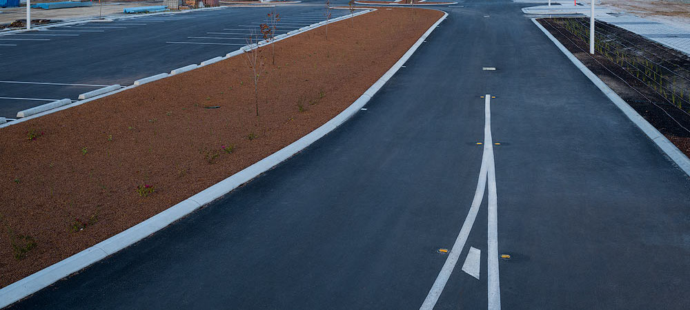 asphalt bitumen project in busselton malatesta