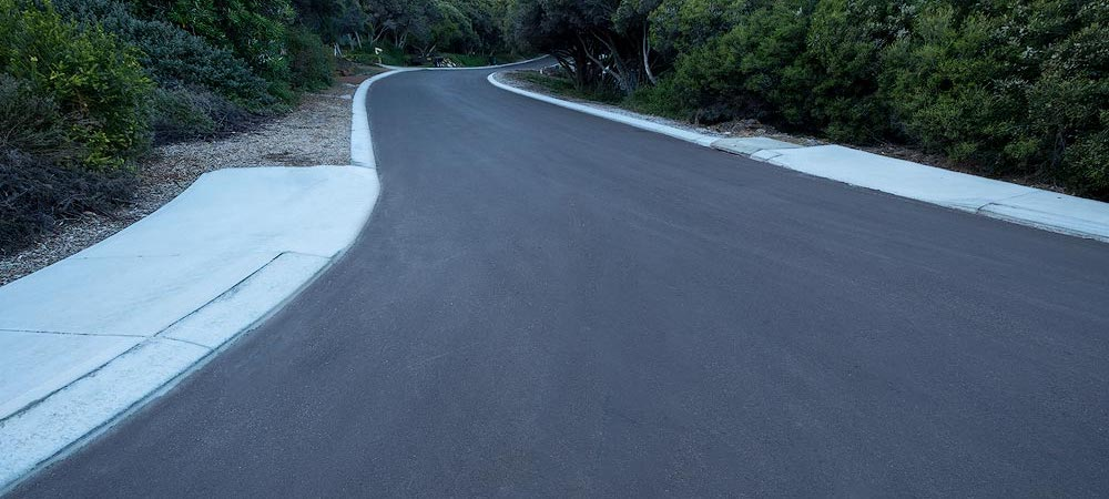 asphalt bitumen project in yallingup malatesta