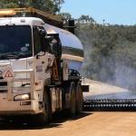 Spary Sealing Mowen Road Shire of Nannup Malatesta