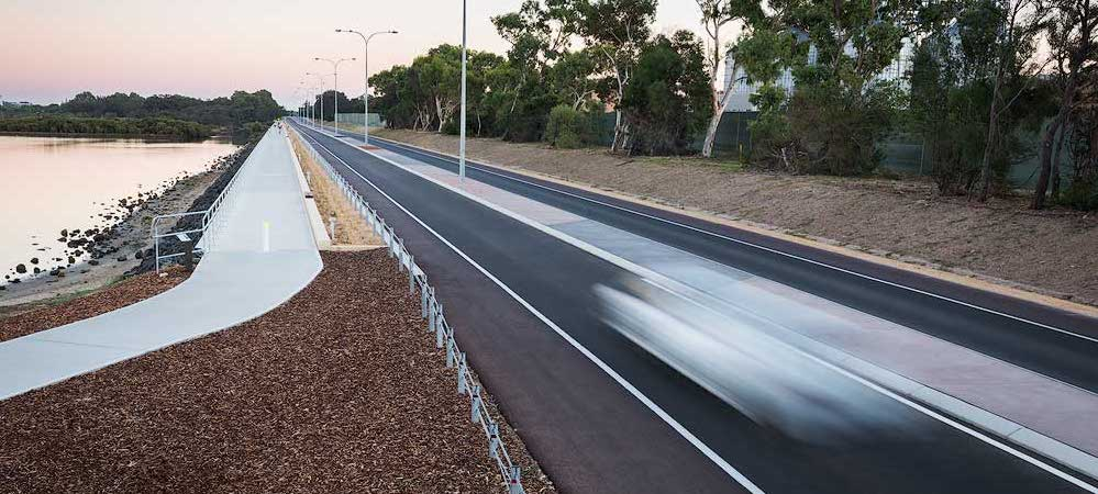 asphalt bitumen project in bunbury malatesta